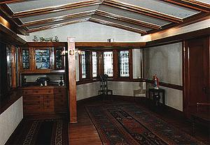 Interior Views Of Arthur B Heurtley House 1902
